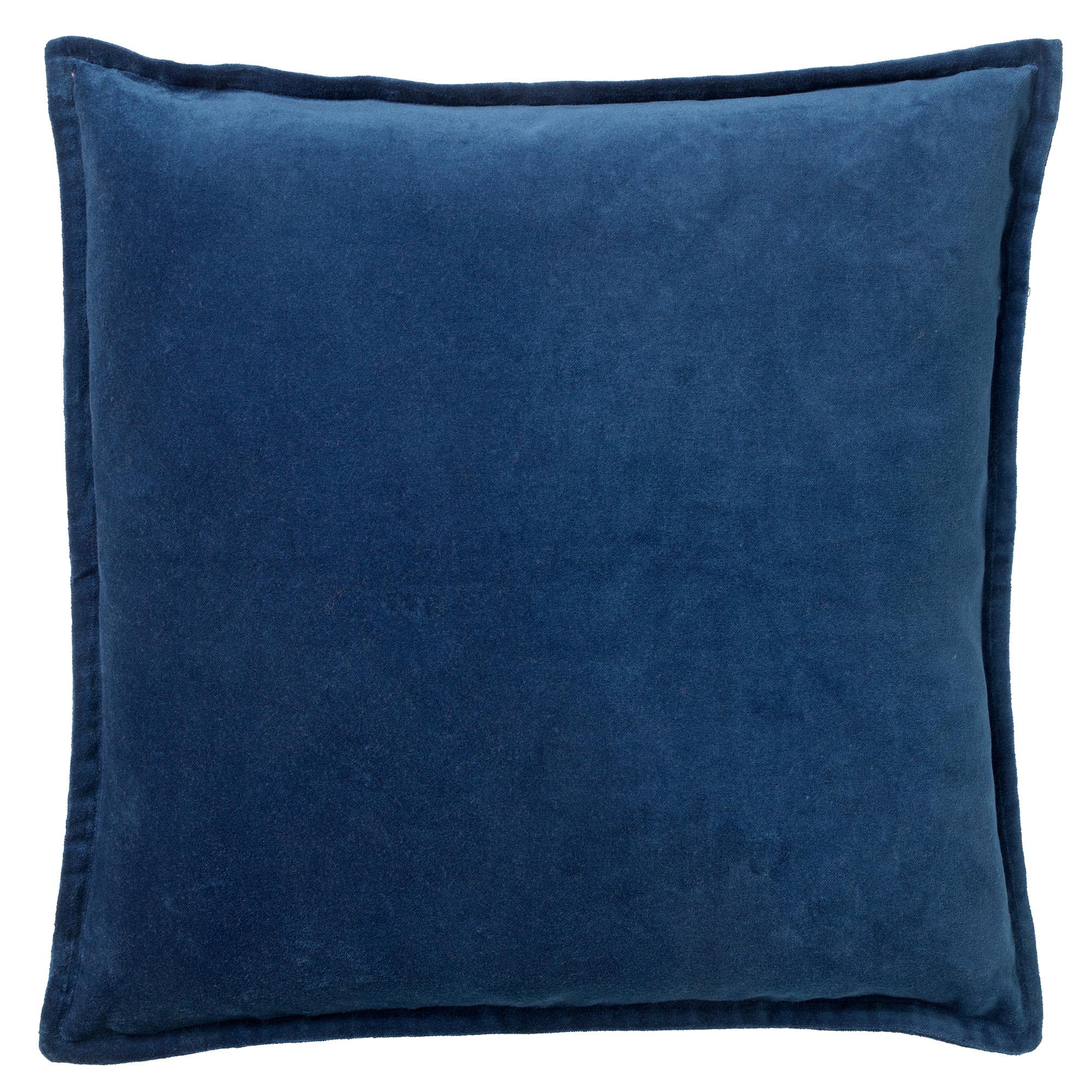 CAITH - Sierkussen velvet Insignia Blue 50x50 cm