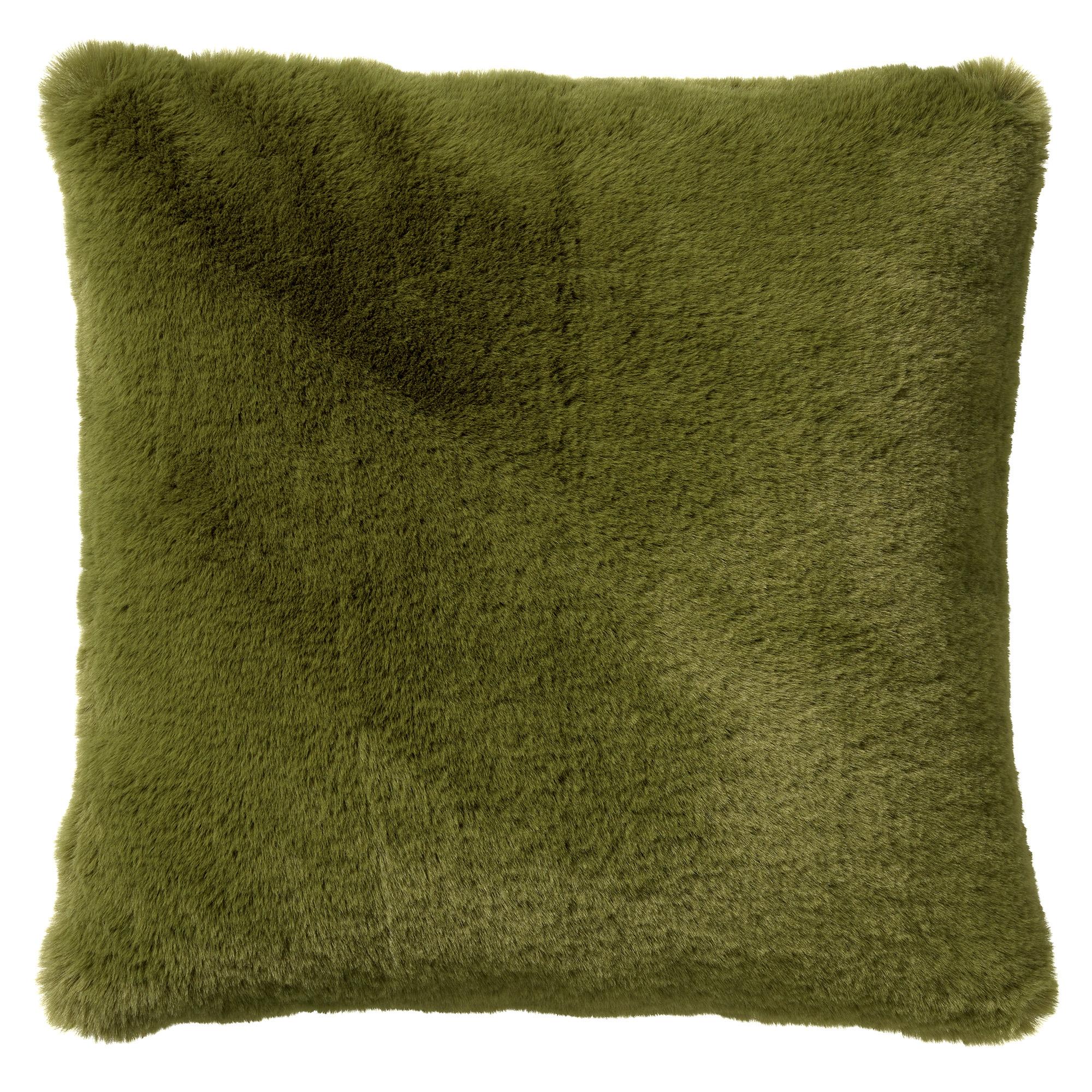 ZAYA - Sierkussen unikleur Calliste Green 45x45 cm