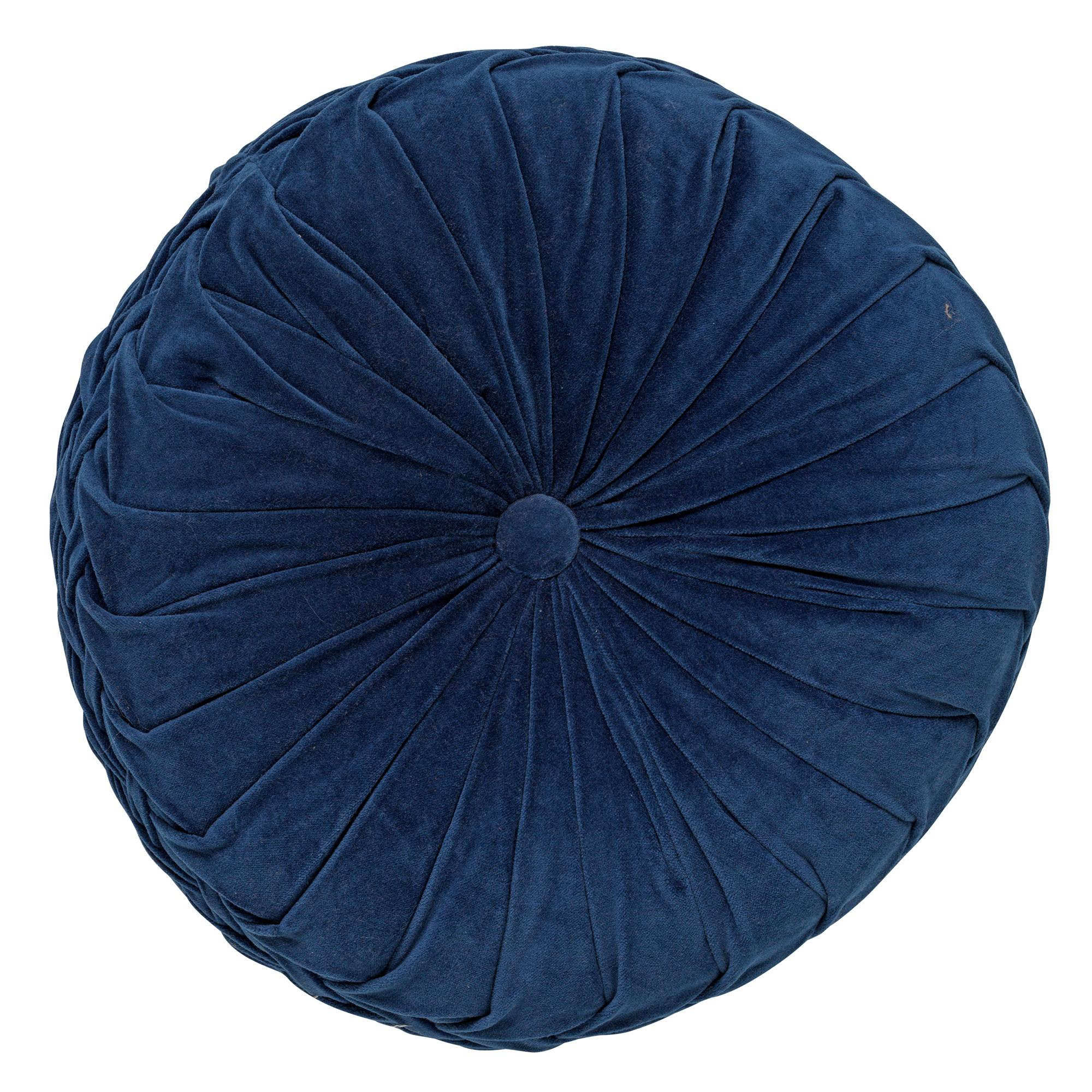 KAJA - Sierkussen rond velvet Insignia 40 cm