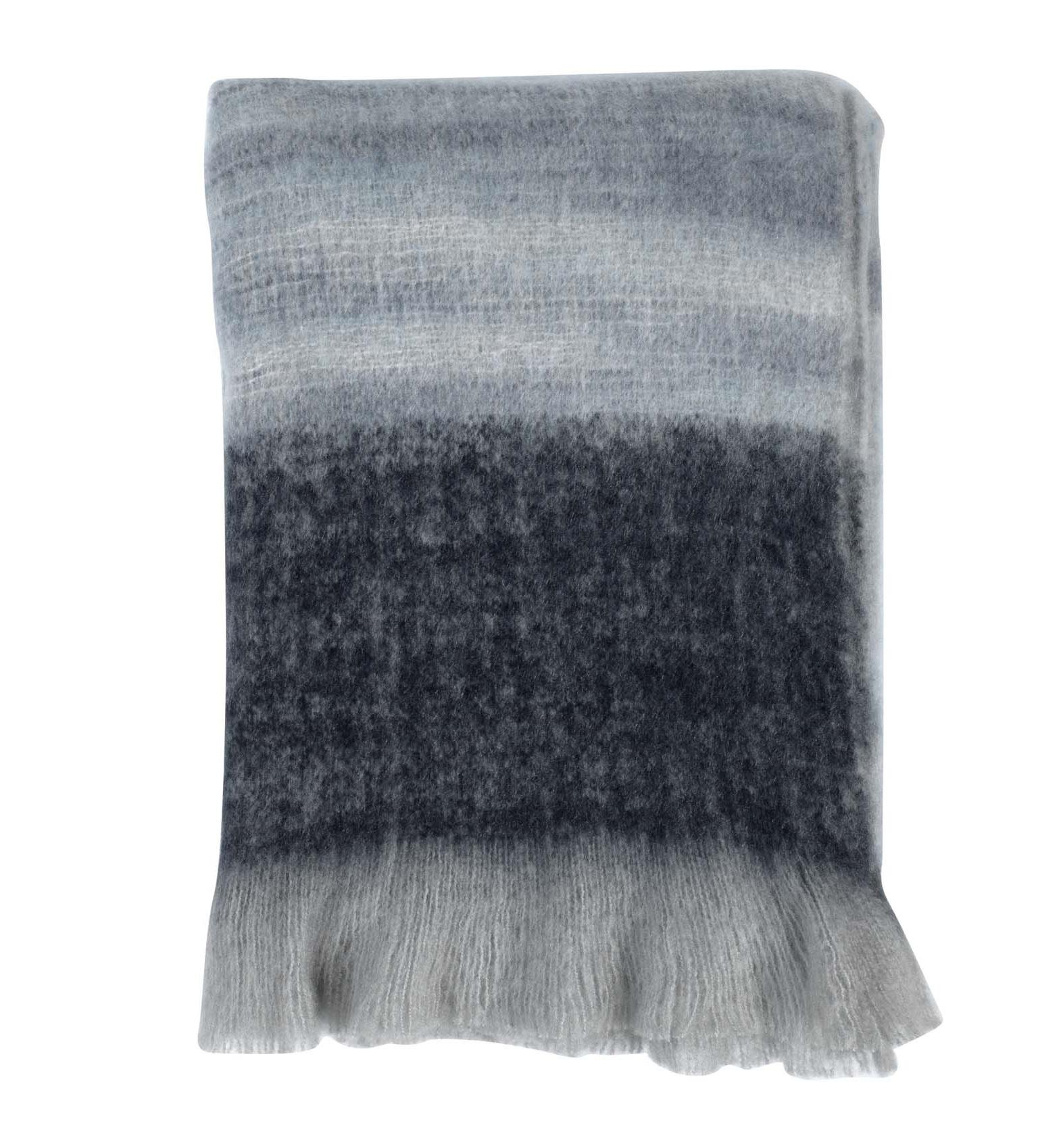 JASPER - Plaid blauw multi 130x170 cm