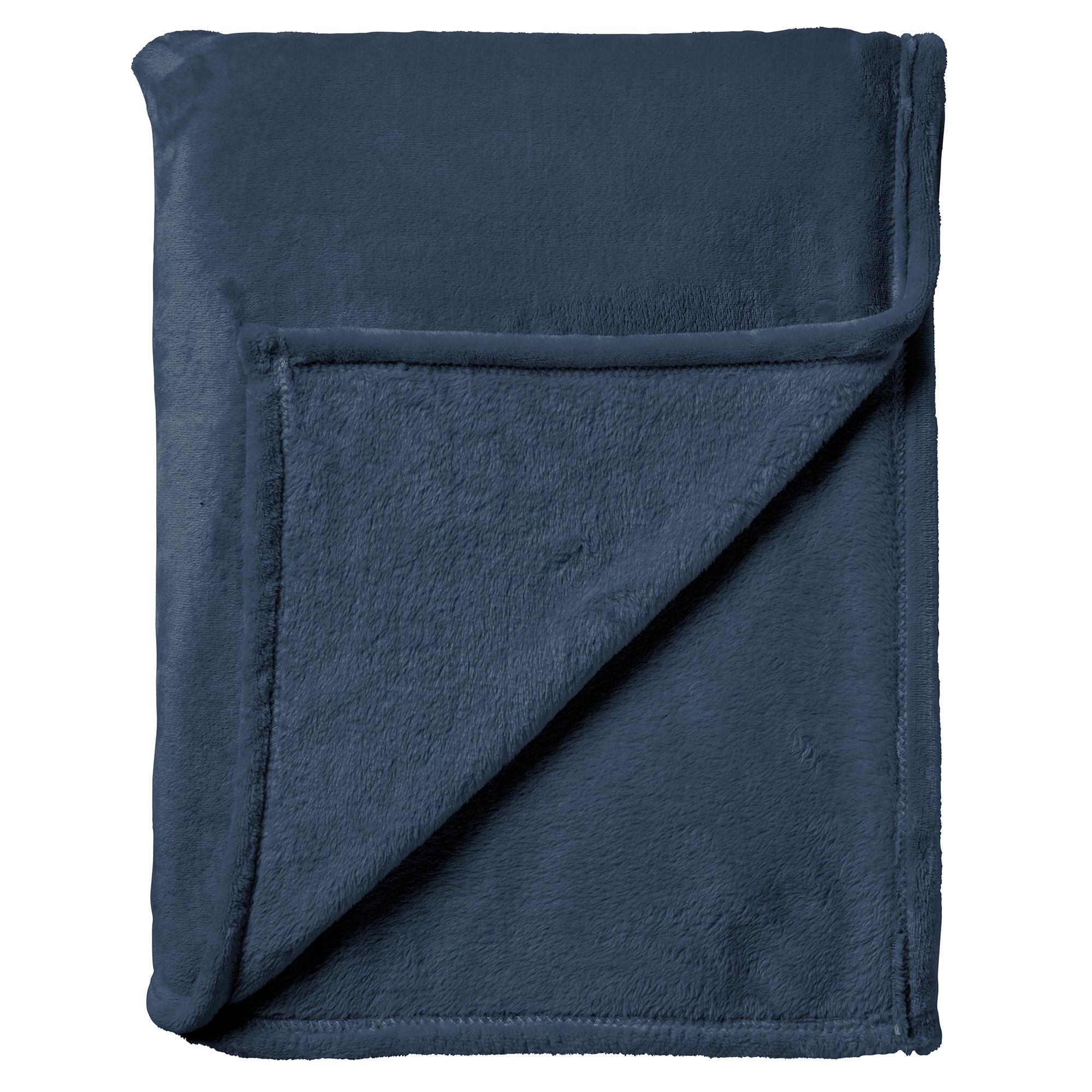 CHARLIE - Plaid Insignia Blue 200x220 cm