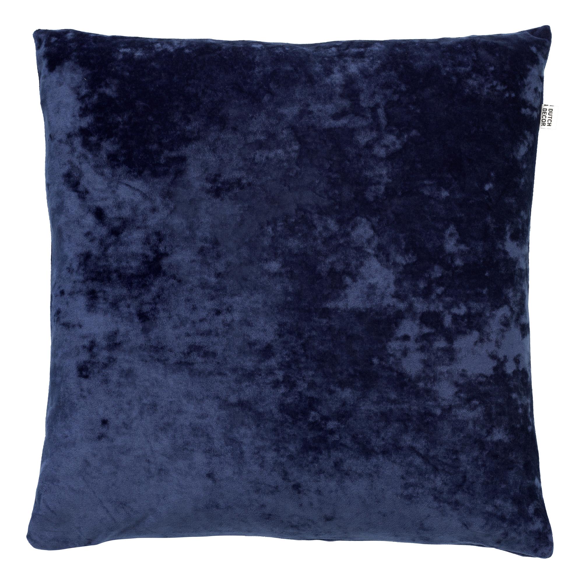 SKY - Sierkussen velvet Insiginia Blue 45x45 cm
