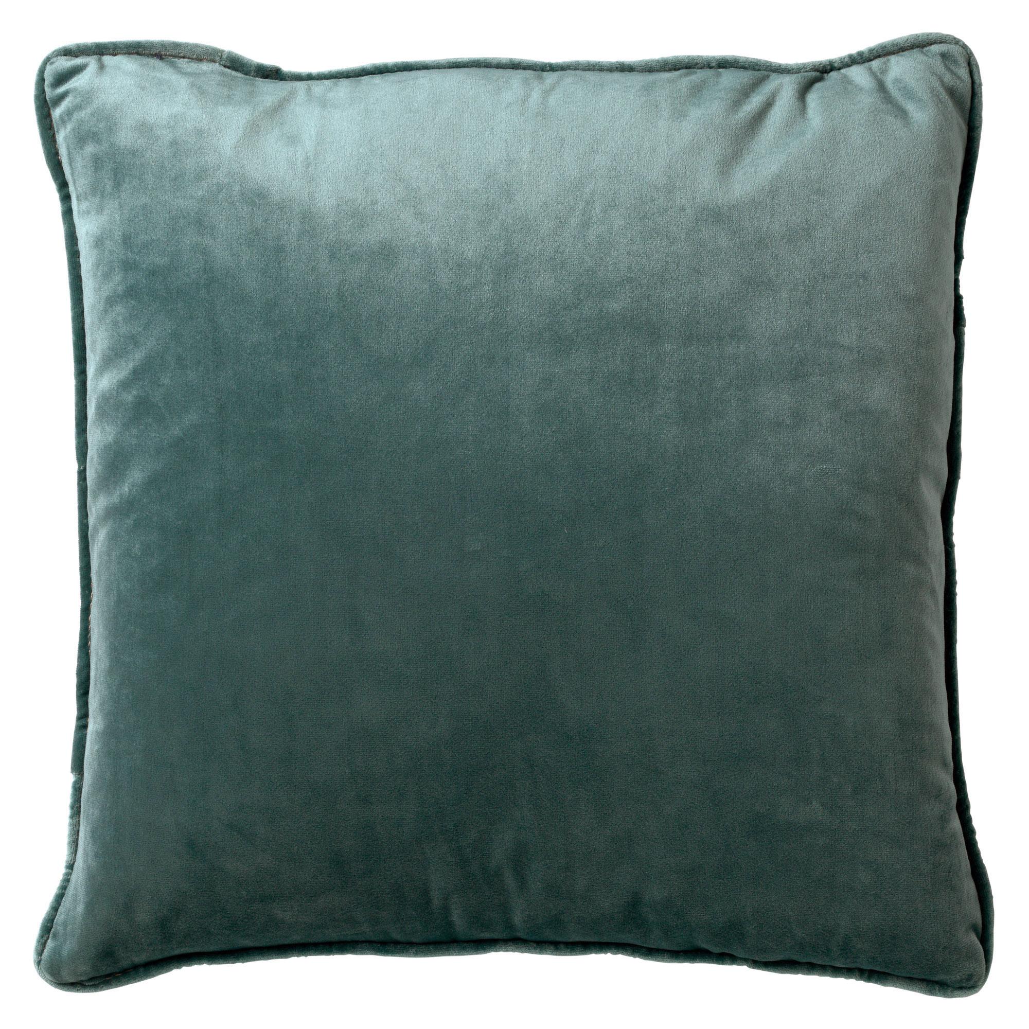 FINN - Sierkussen velvet Sagebrush Green 60x60 cm