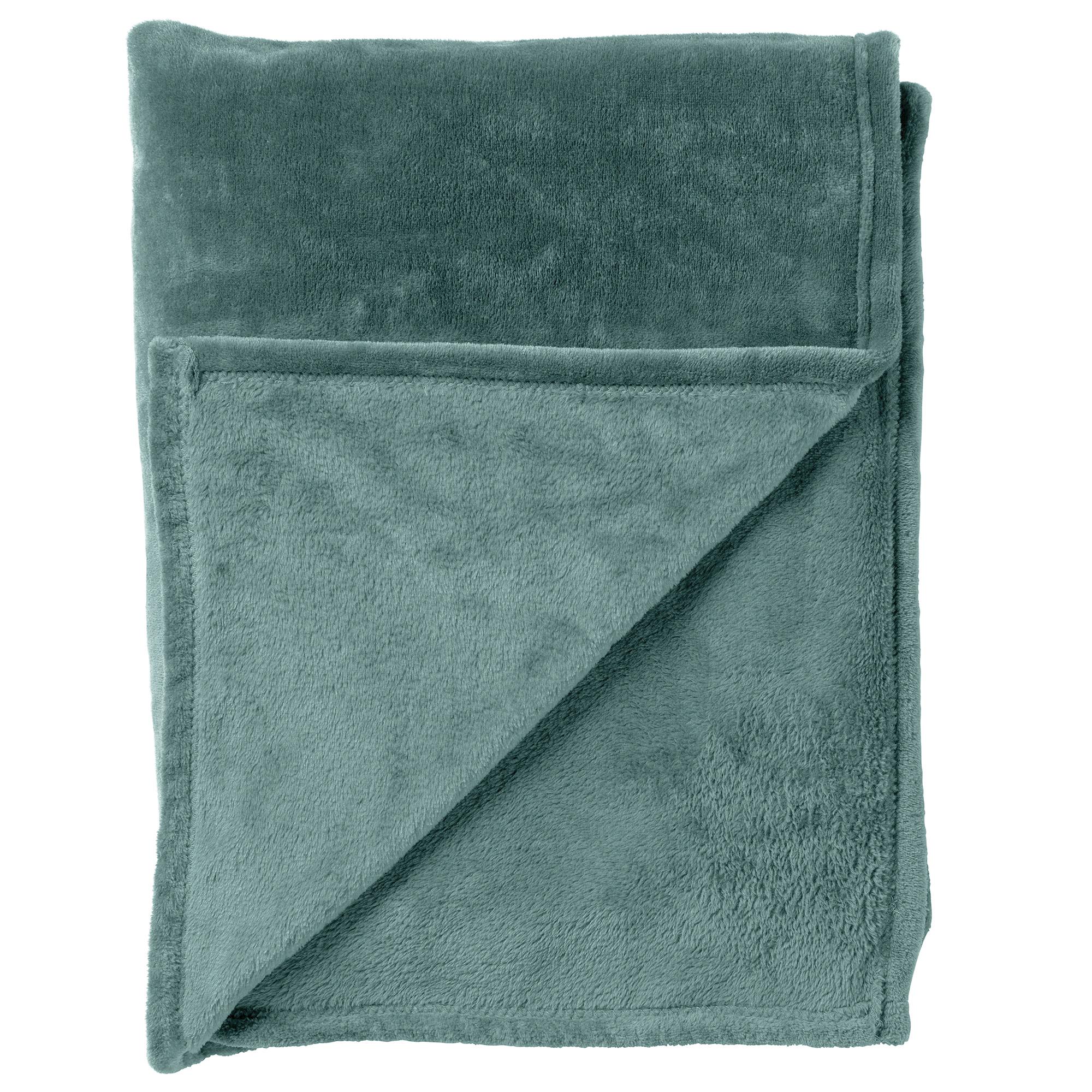 CHARLIE - Plaid Sagebrush Green 200x220 cm