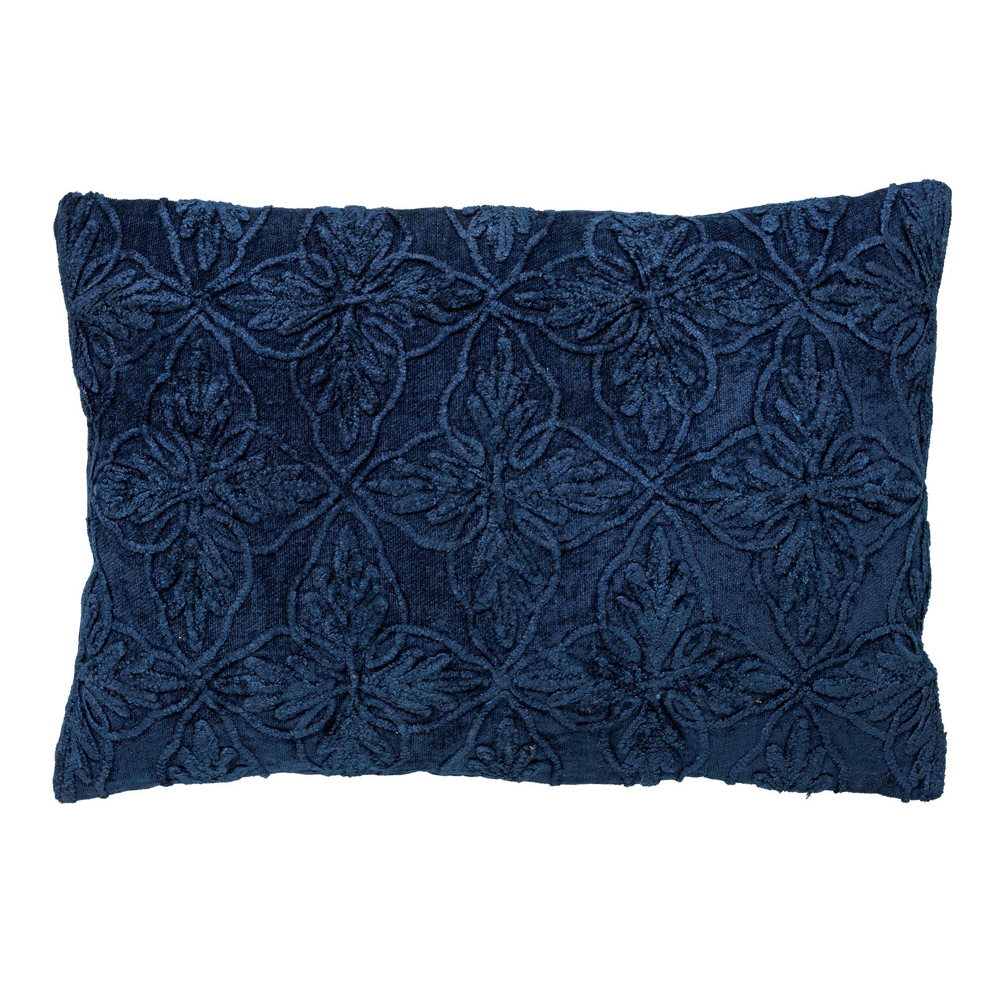 AMAR - Sierkussen van katoen 40x60 cm Insignia Blue