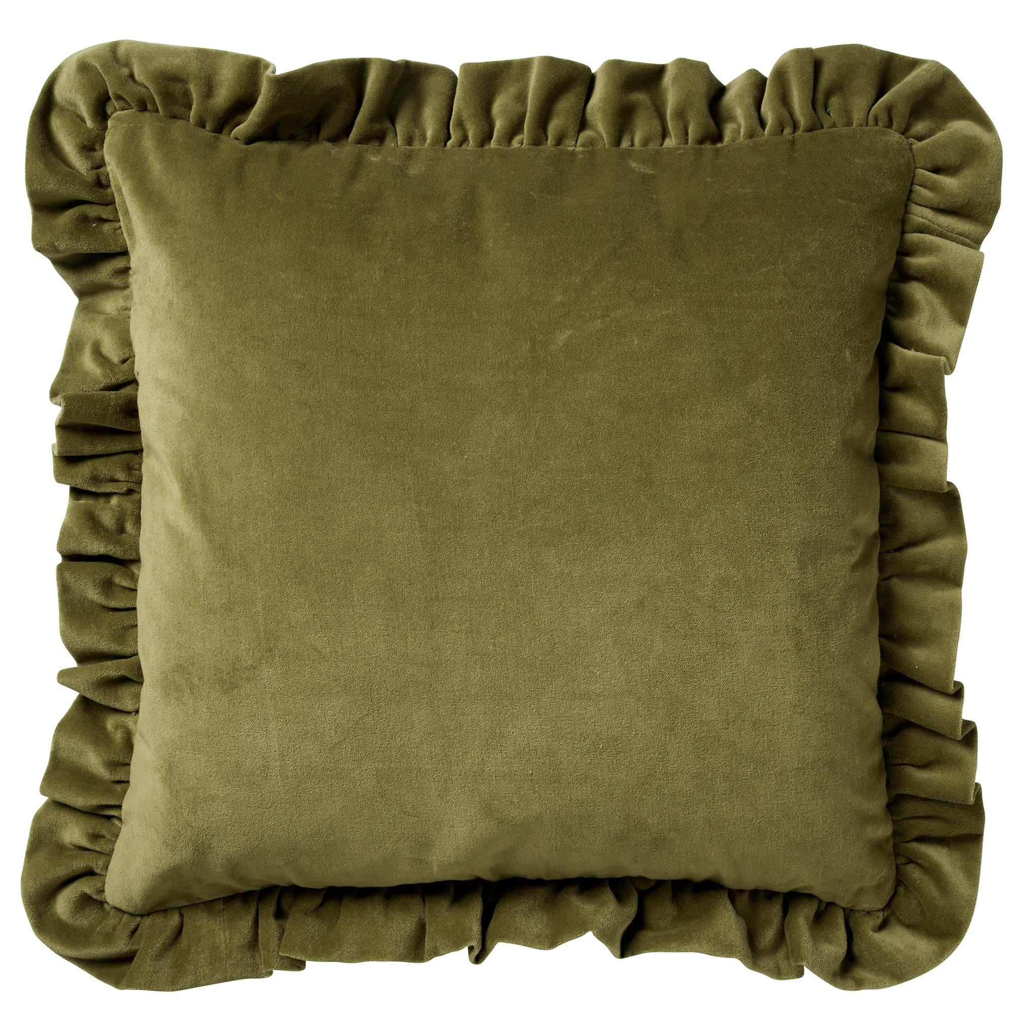 YARA - Sierkussen velvet Calliste Green 45x45 cm