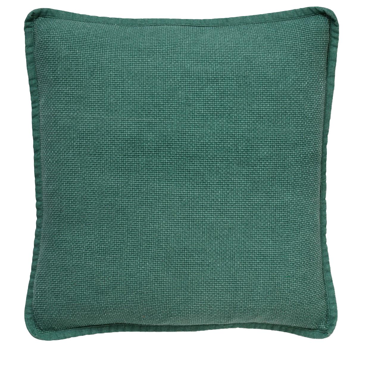 BOWIE - Sierkussen van katoen 45x45 cm Sagebrush Green