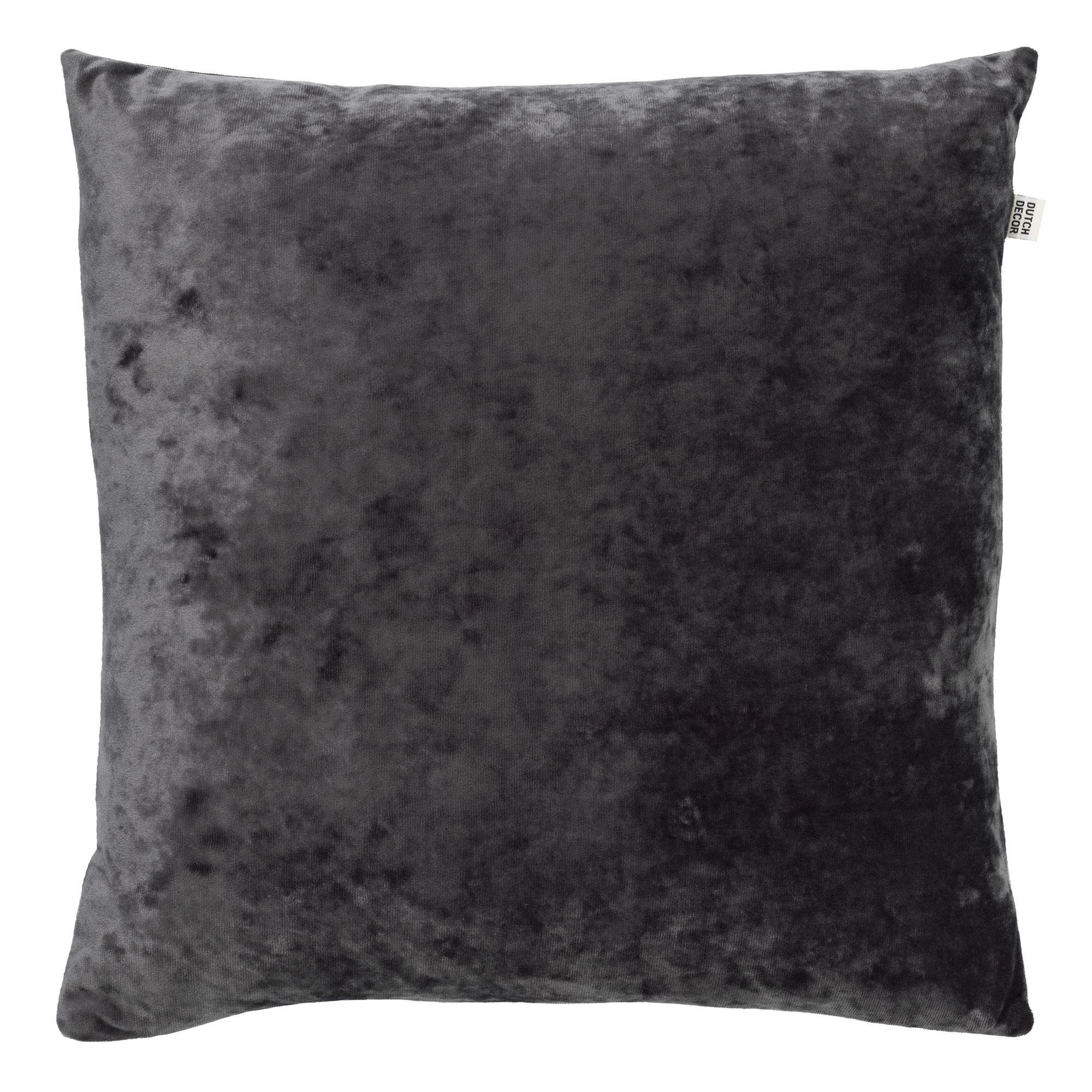 SKY - Sierkussen velvet Charcoal Gray 45x45 cm