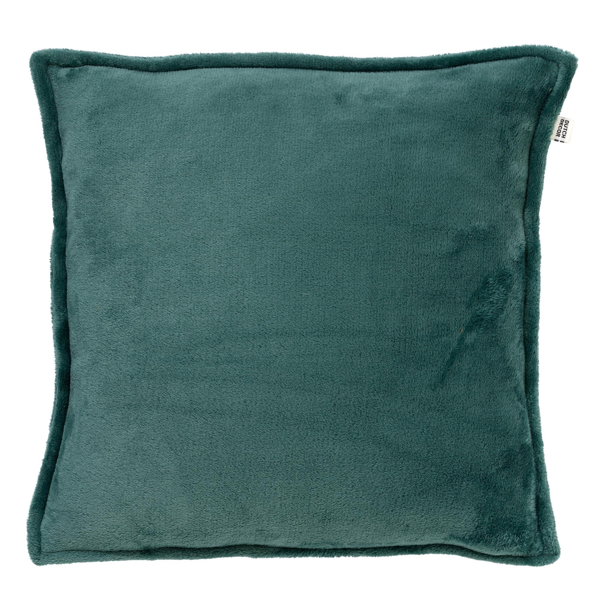 CILLY - Sierkussen van fleece Sagebrush Green 45x45 cm