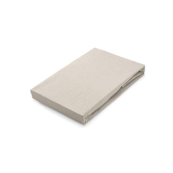 Hoeslaken Walra Jersey Stretch 140x200/210 cm Zand Twijfelaar