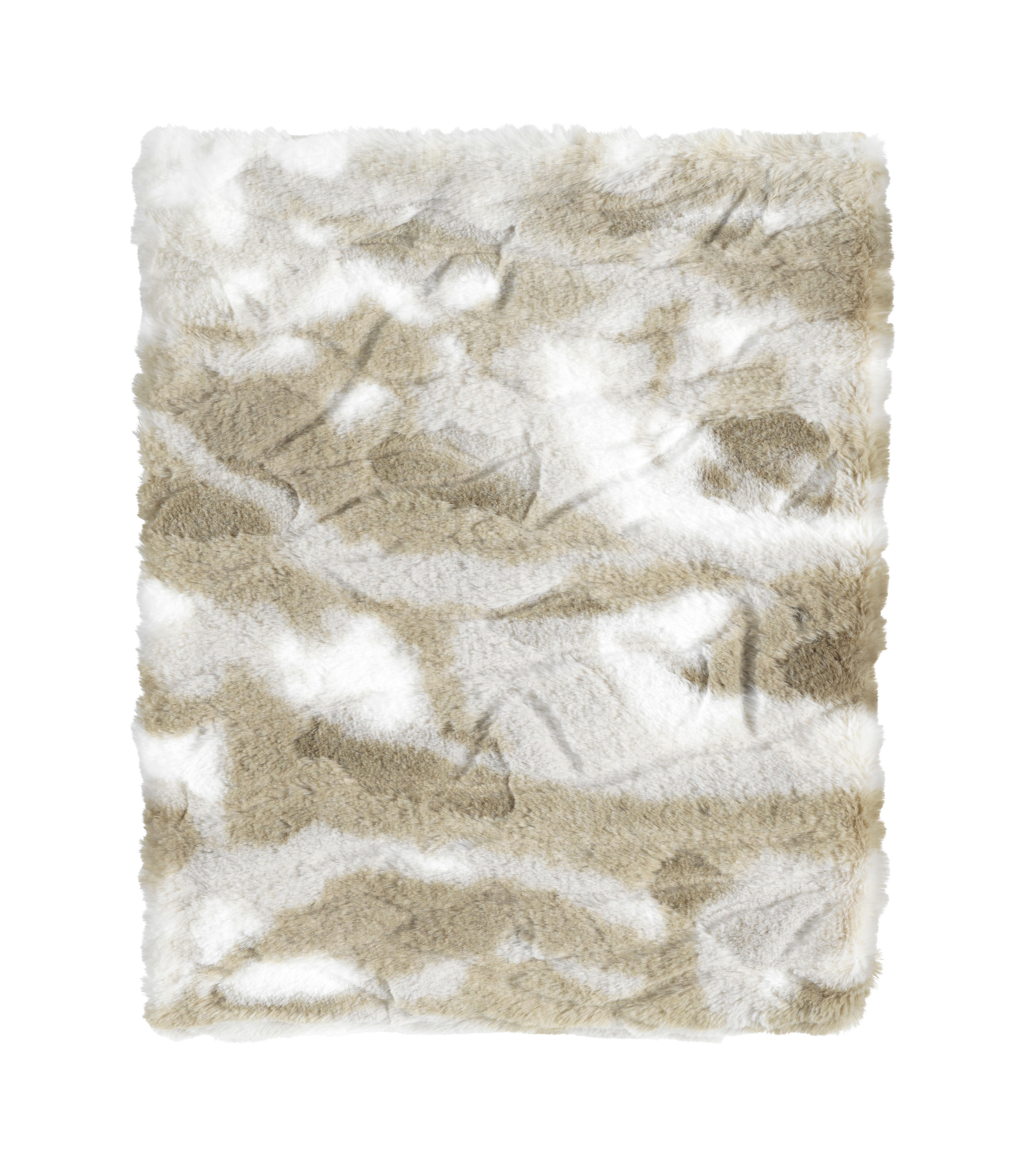 ROEL - Plaid olijf multi 130x170 cm