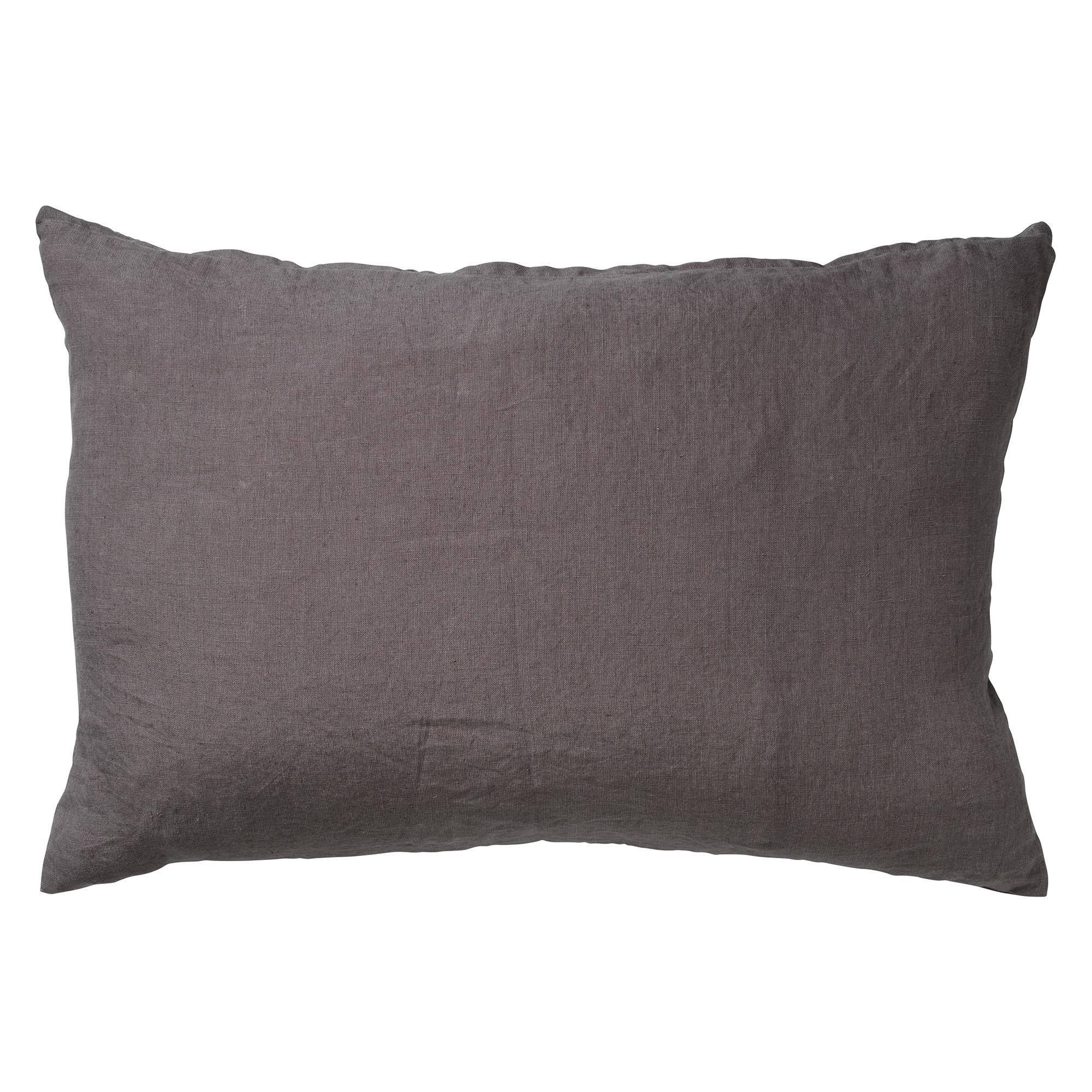 LINN - Sierkussen linnen Charcoal Grey 40x60 cm