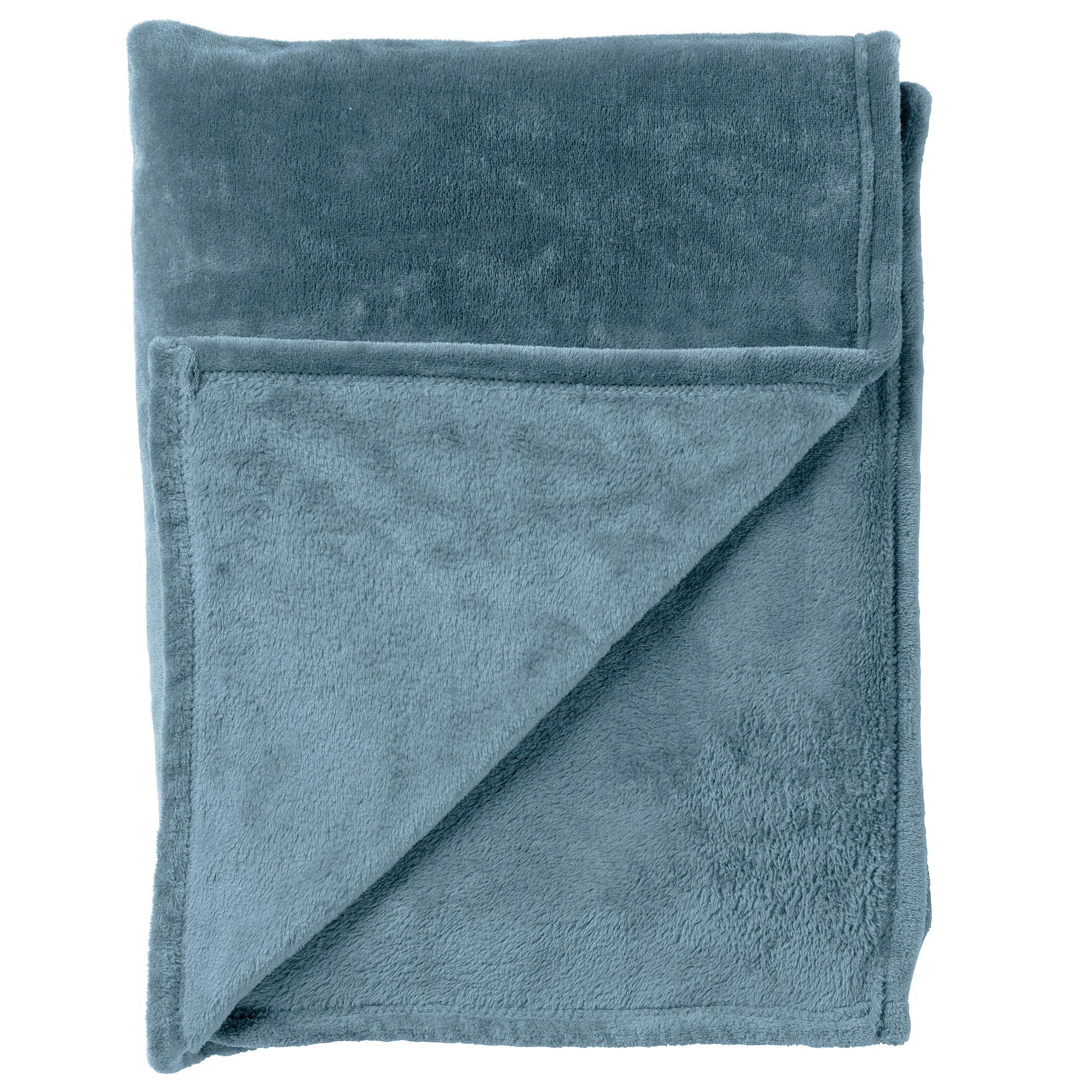 BILLY - Plaid Provincial Blue 150x200 cm
