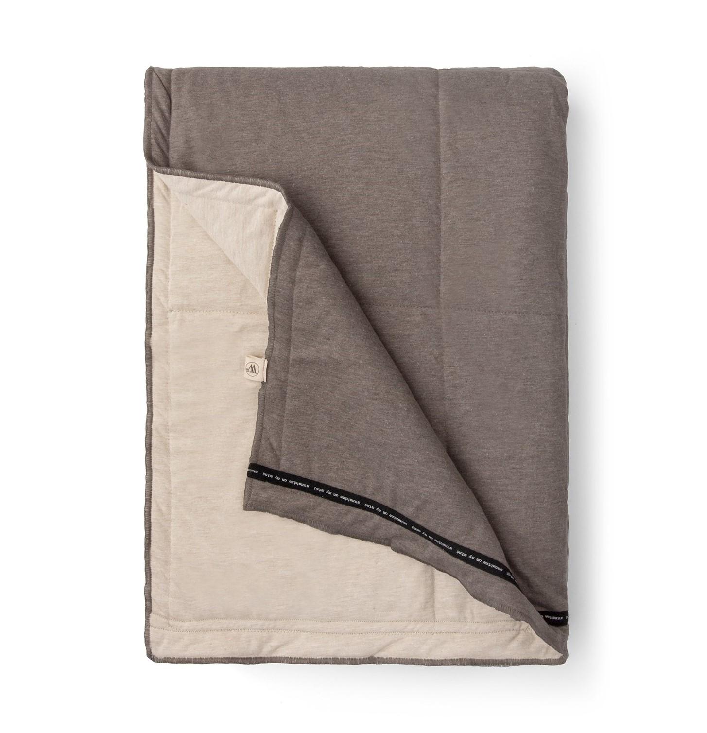 Plaid Walra Soft Jersey 130x180 cm Sand/Taupe