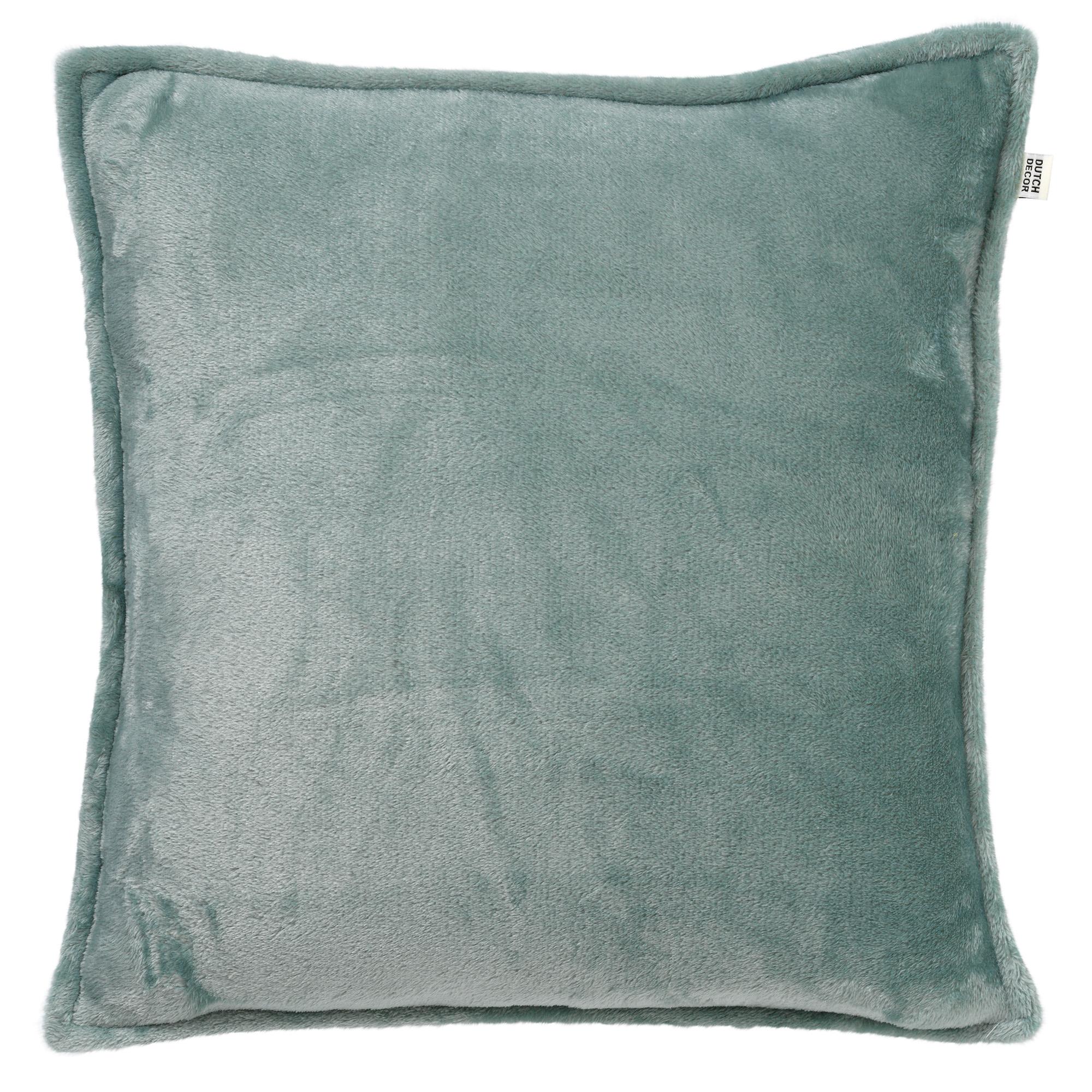 CILLY - Sierkussen van fleece Jadeite 45x45 cm