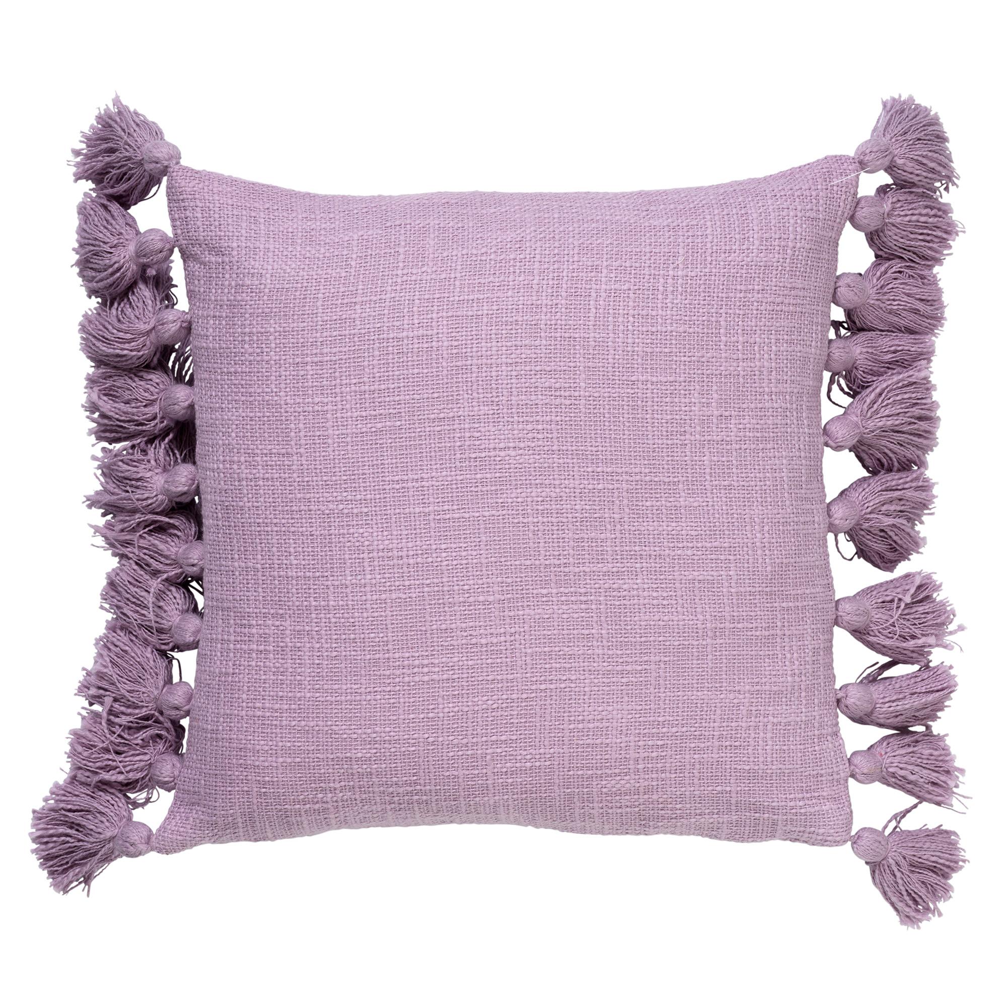 RUBY - Sierkussen van katoen Lavender Frost 45x45 cm