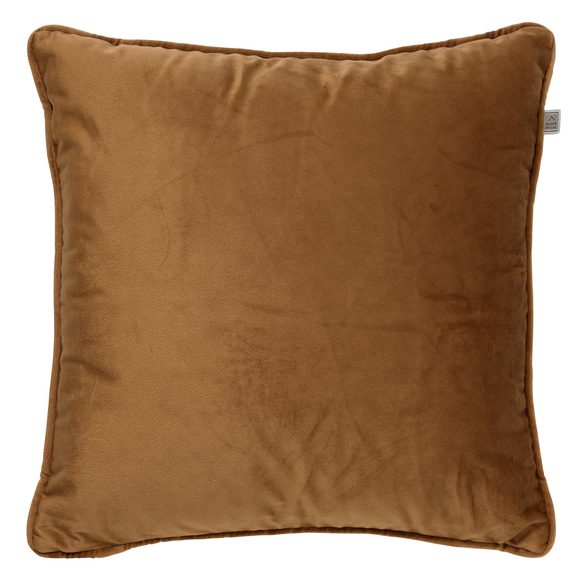 FINN - Sierkussen velvet Tobacco Brown 60x60 cm