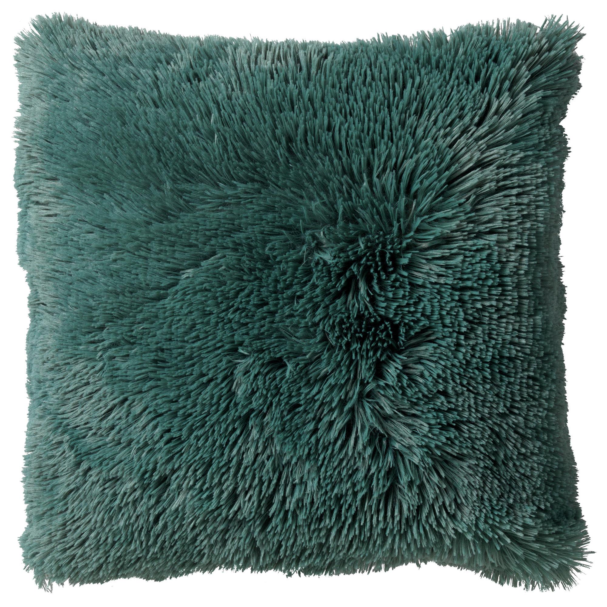FLUFFY - Sierkussen unikleur Sagebrush Green 45x45 cm