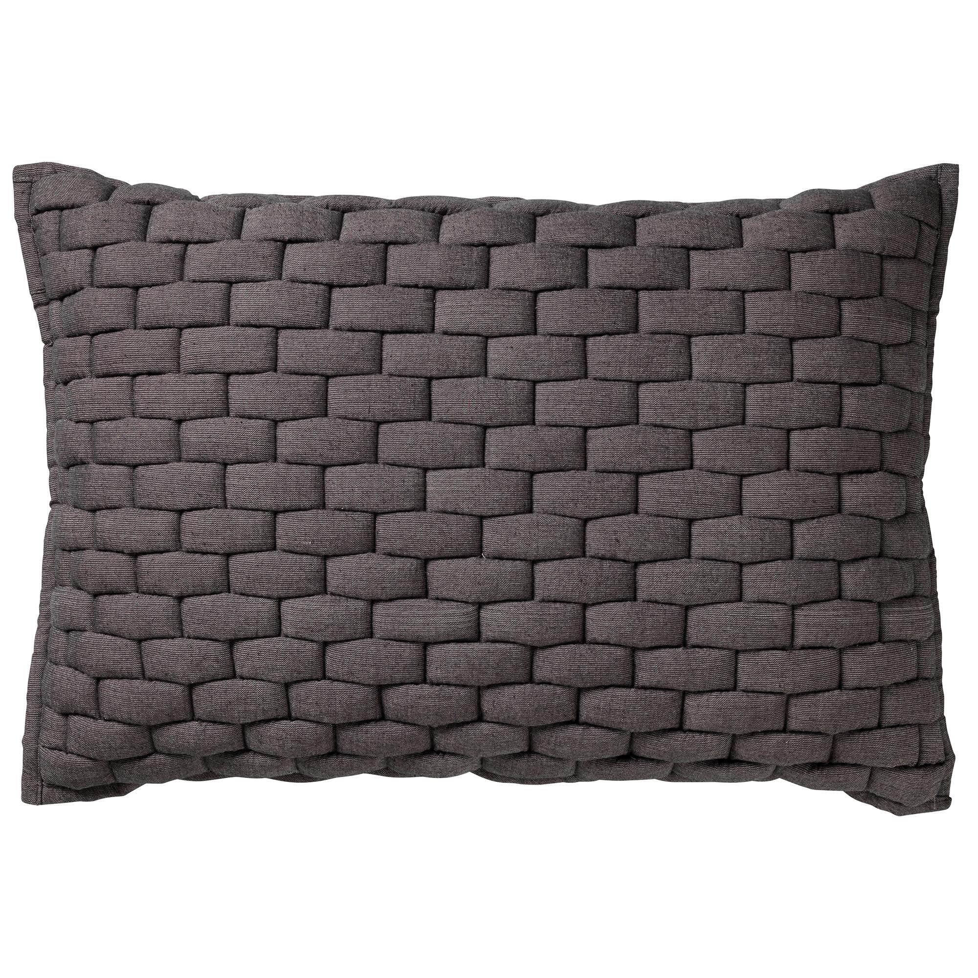 LINA - Sierkussen Charcoal Grey 40x60 cm