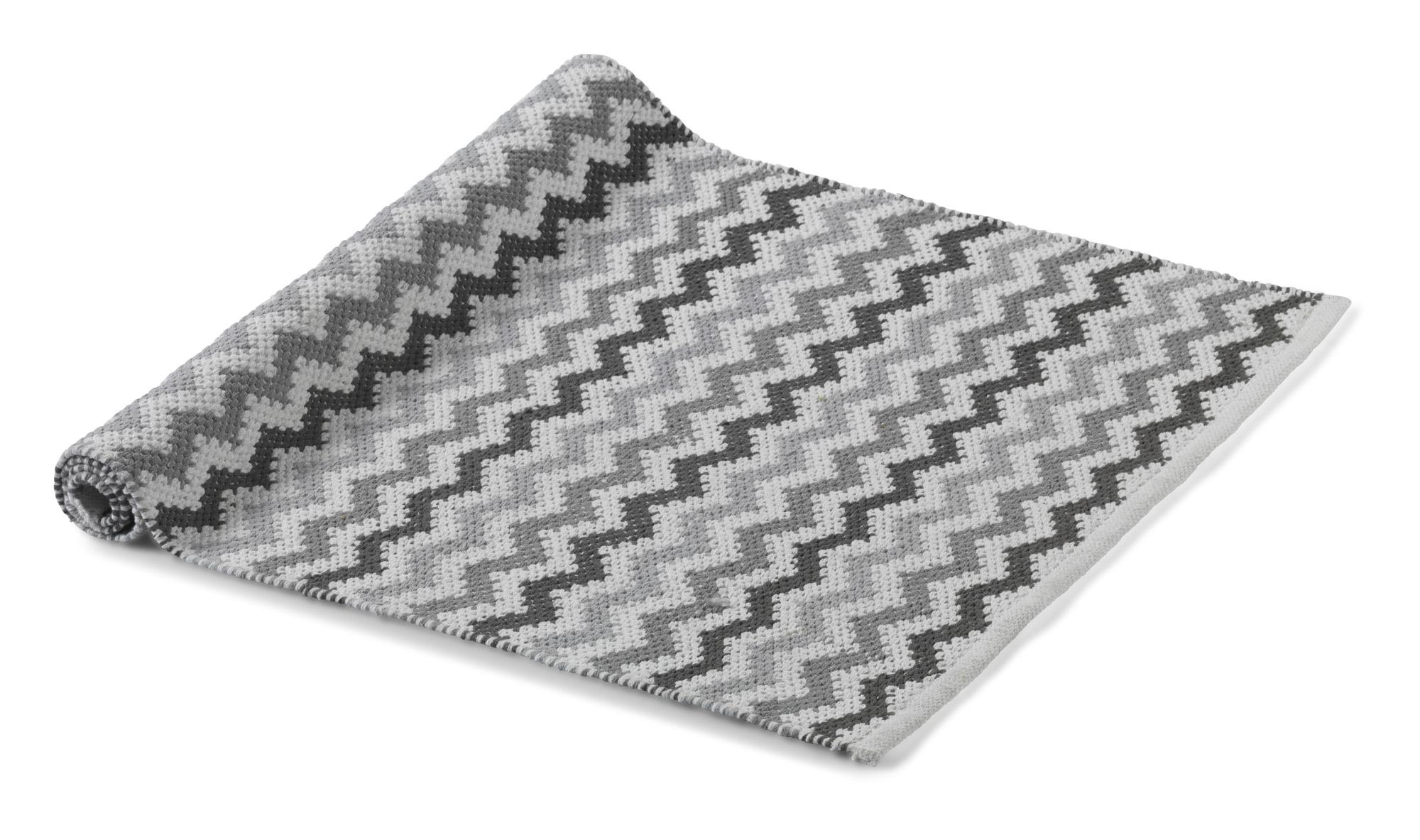 HANNE - Vloermat Multi Grey 75x120 cm