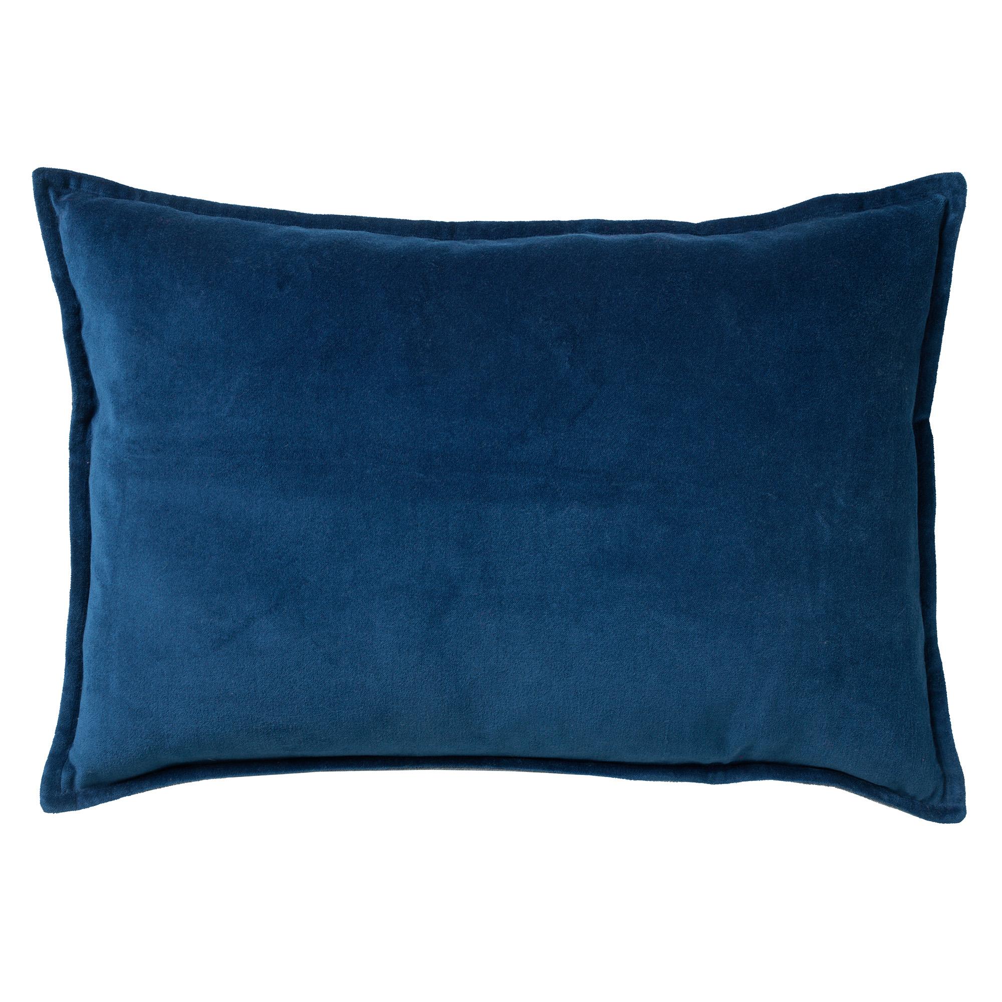 FAY - Sierkussen velvet Insignia Blue 40x60 cm