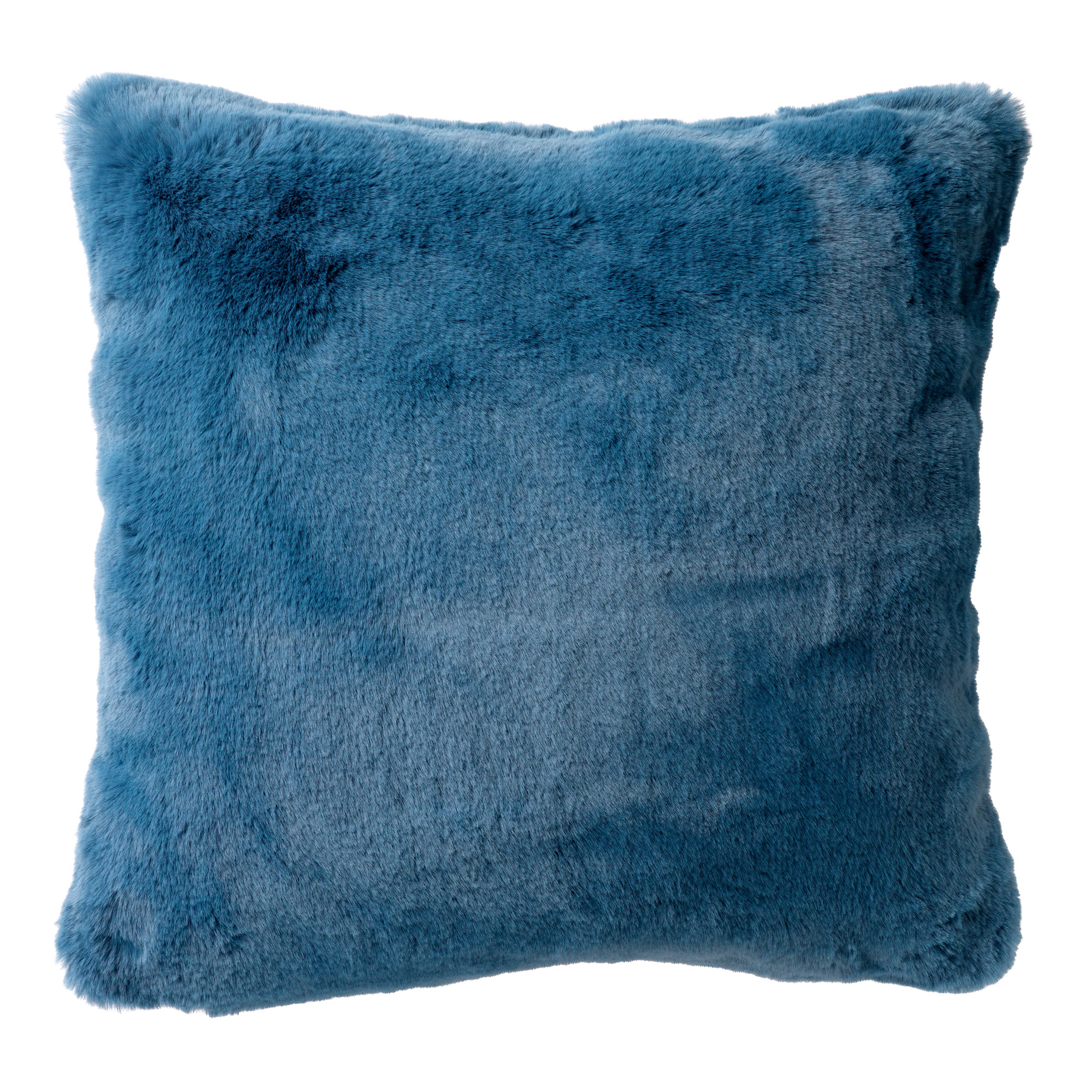 ZAYA - Sierkussen unikleur Provincial Blue 45x45 cm