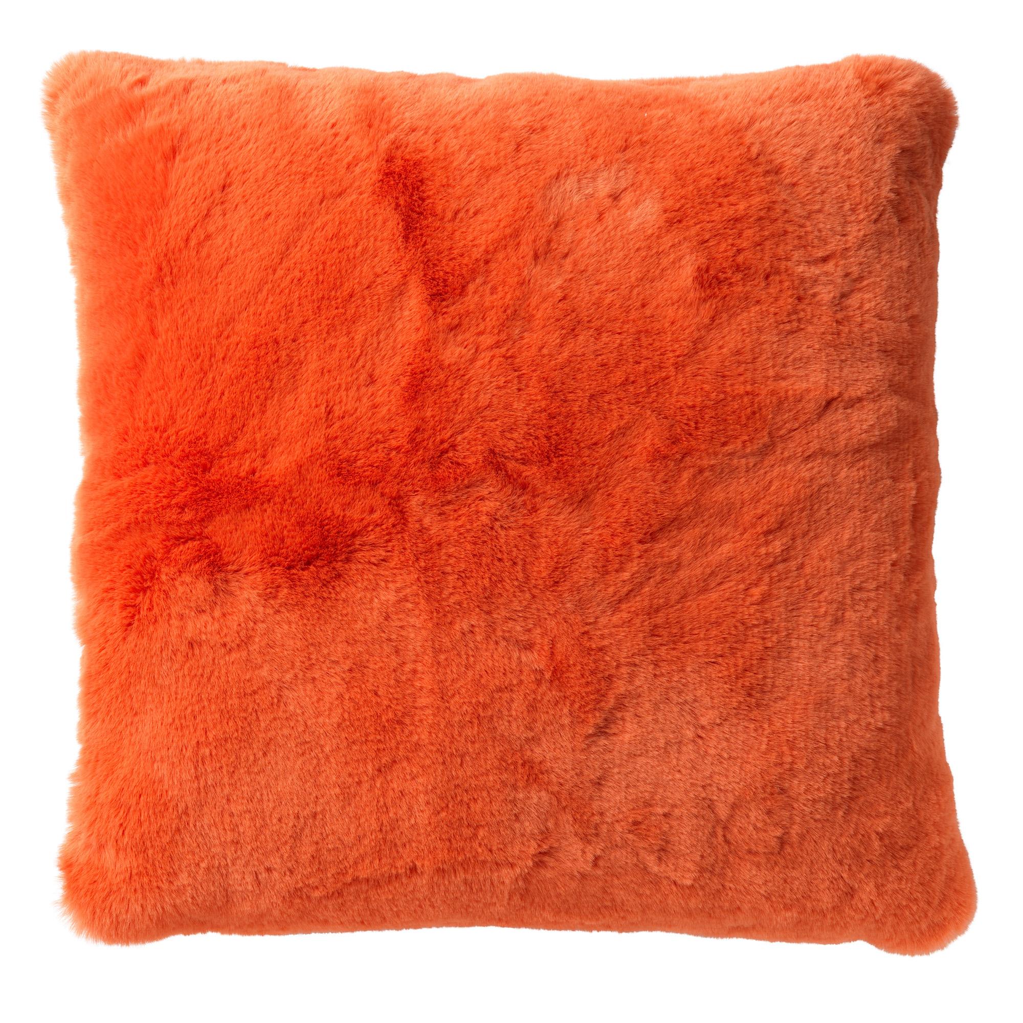 ZAYA - Sierkussen unikleur Coral 45x45 cm