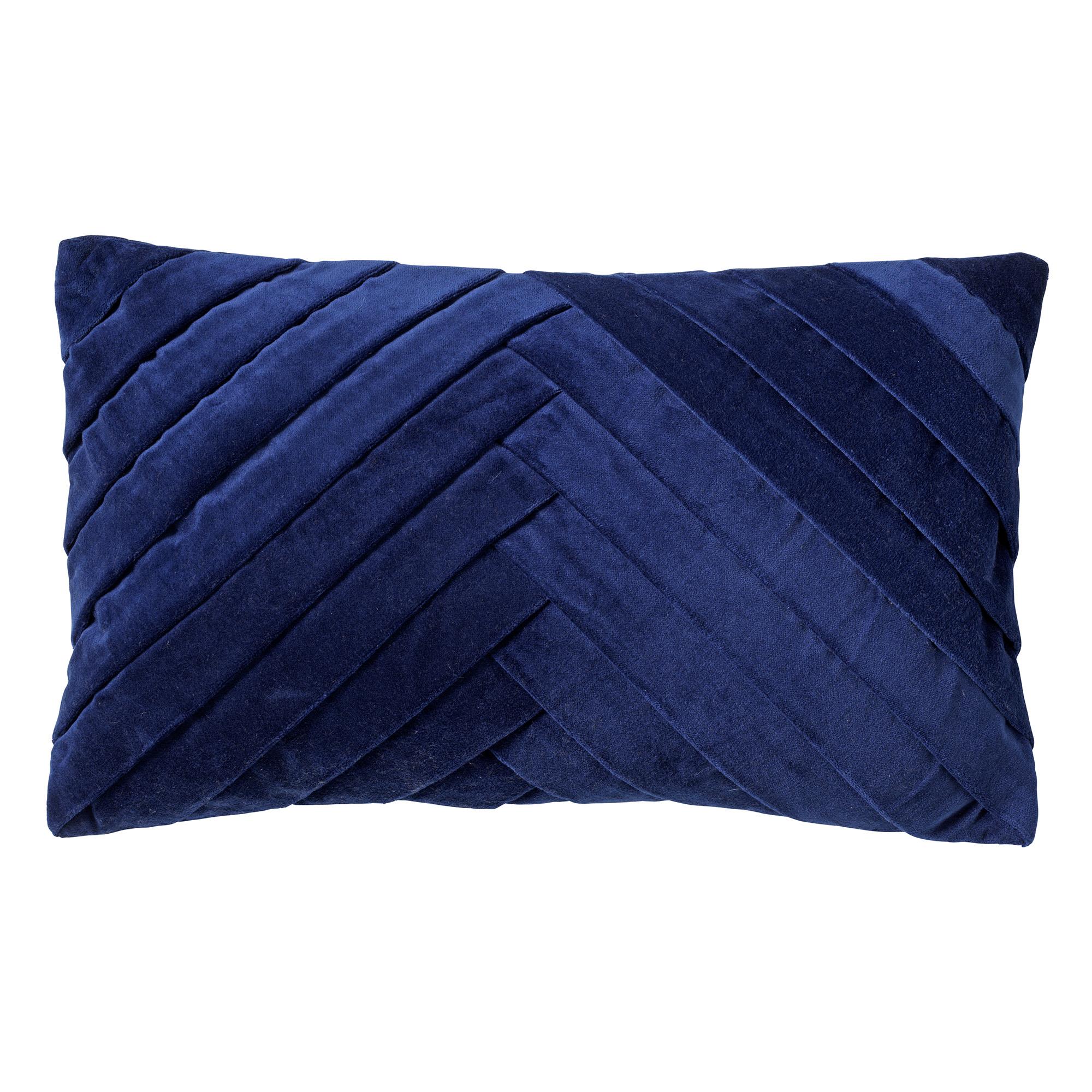 FEMM - Sierkussen velvet 30x50 cm Insignia Blue