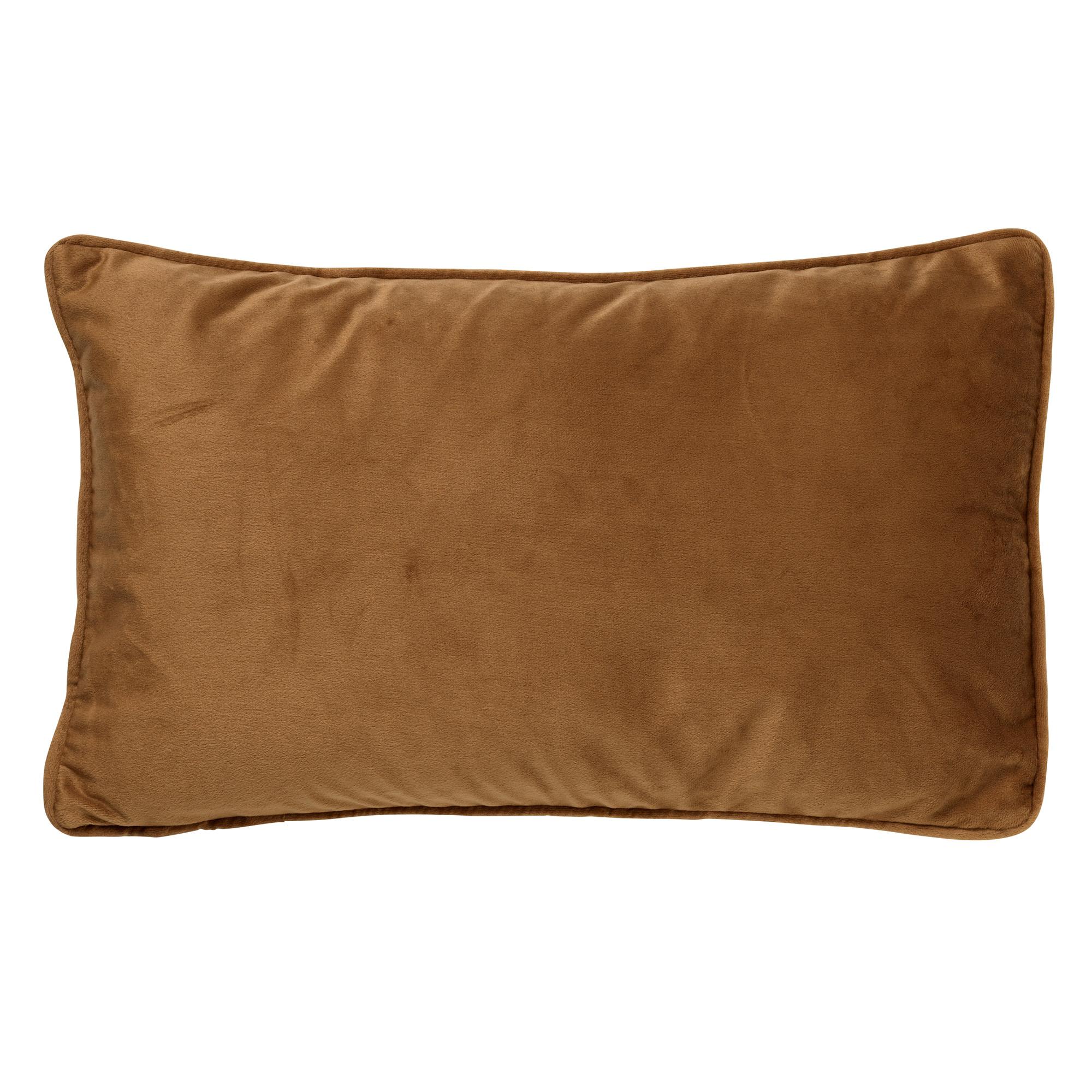 FINN - Sierkussen velvet Tobacco Brown 30x50 cm
