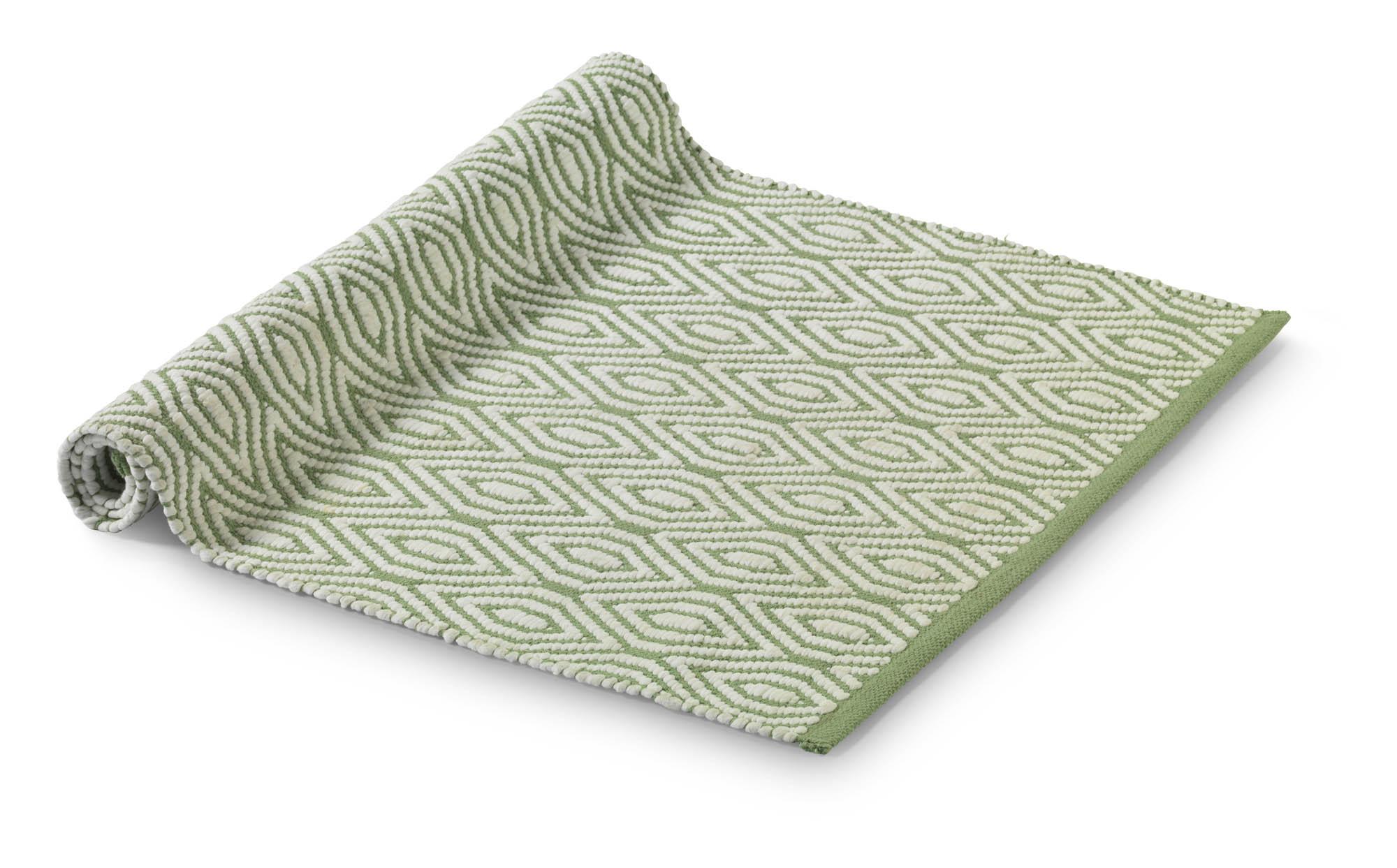 MERA - Vloermat Multi Groen 75x120 cm