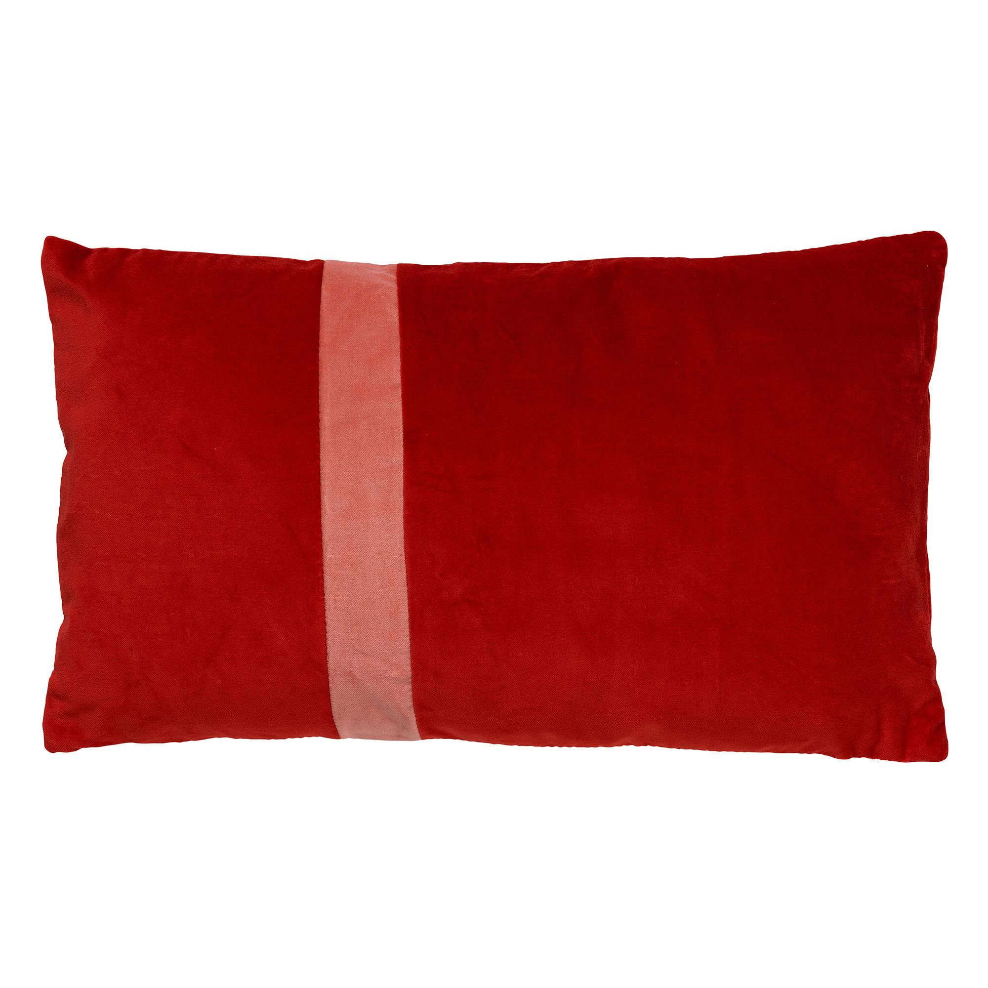 PIPPA - Sierkussen velvet Aurora Red 30x50 cm