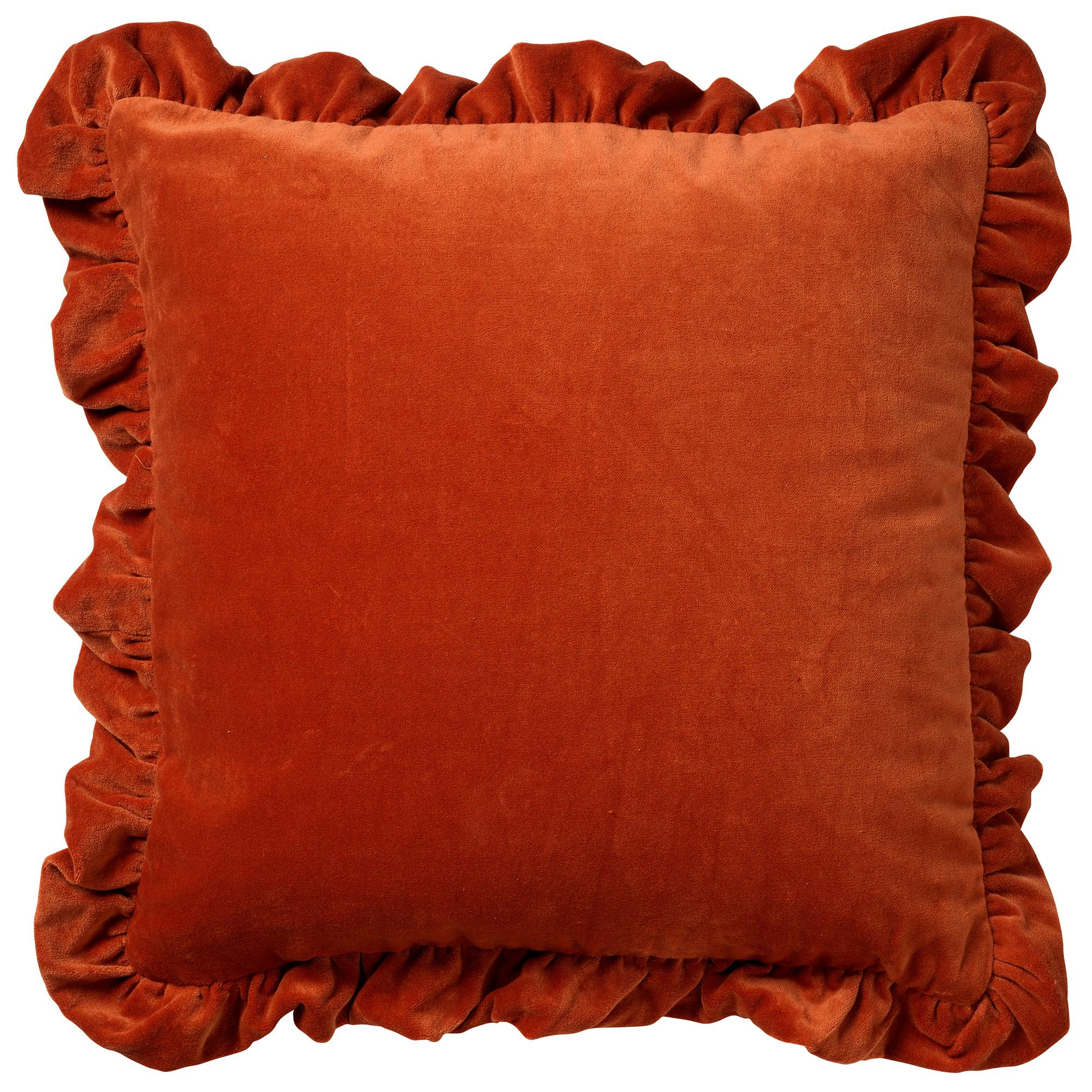 YARA - Sierkussen velvet Potters Clay 45x45 cm