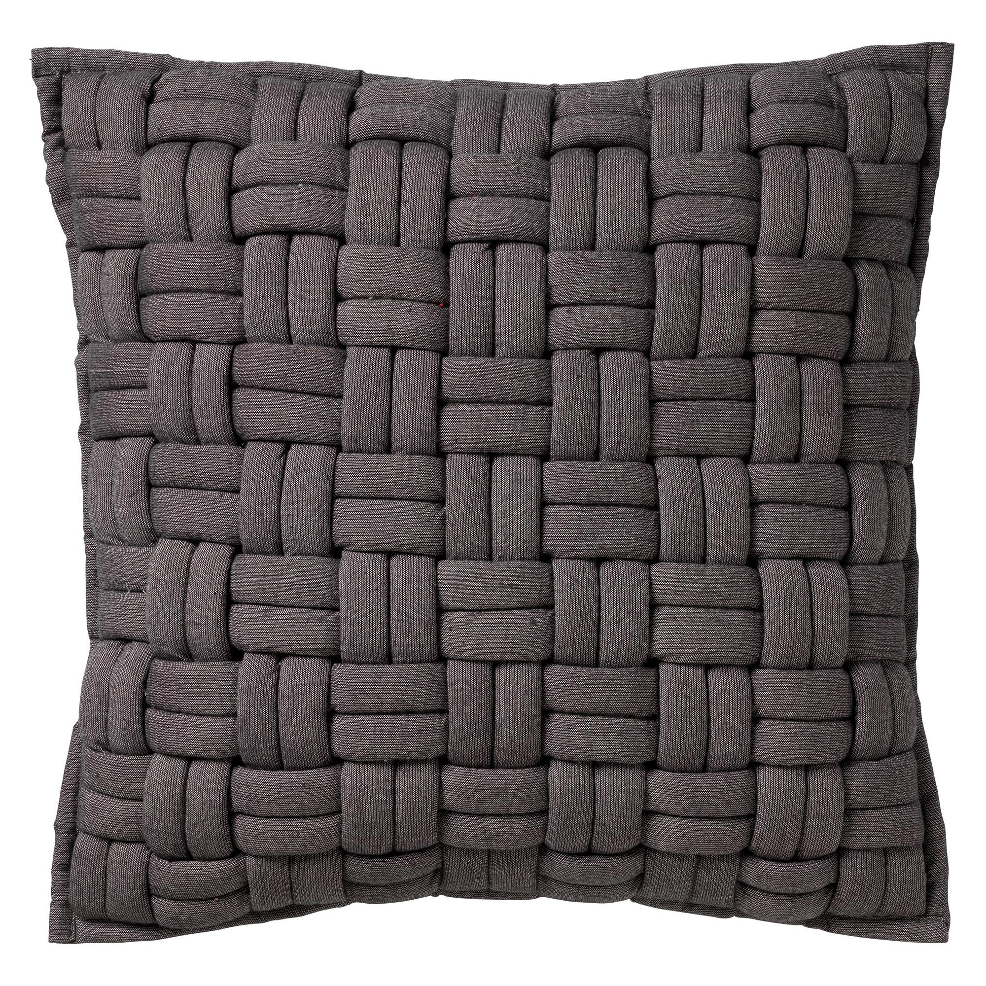 LEVI - Sierkussen Charcoal Grey 45x45 cm