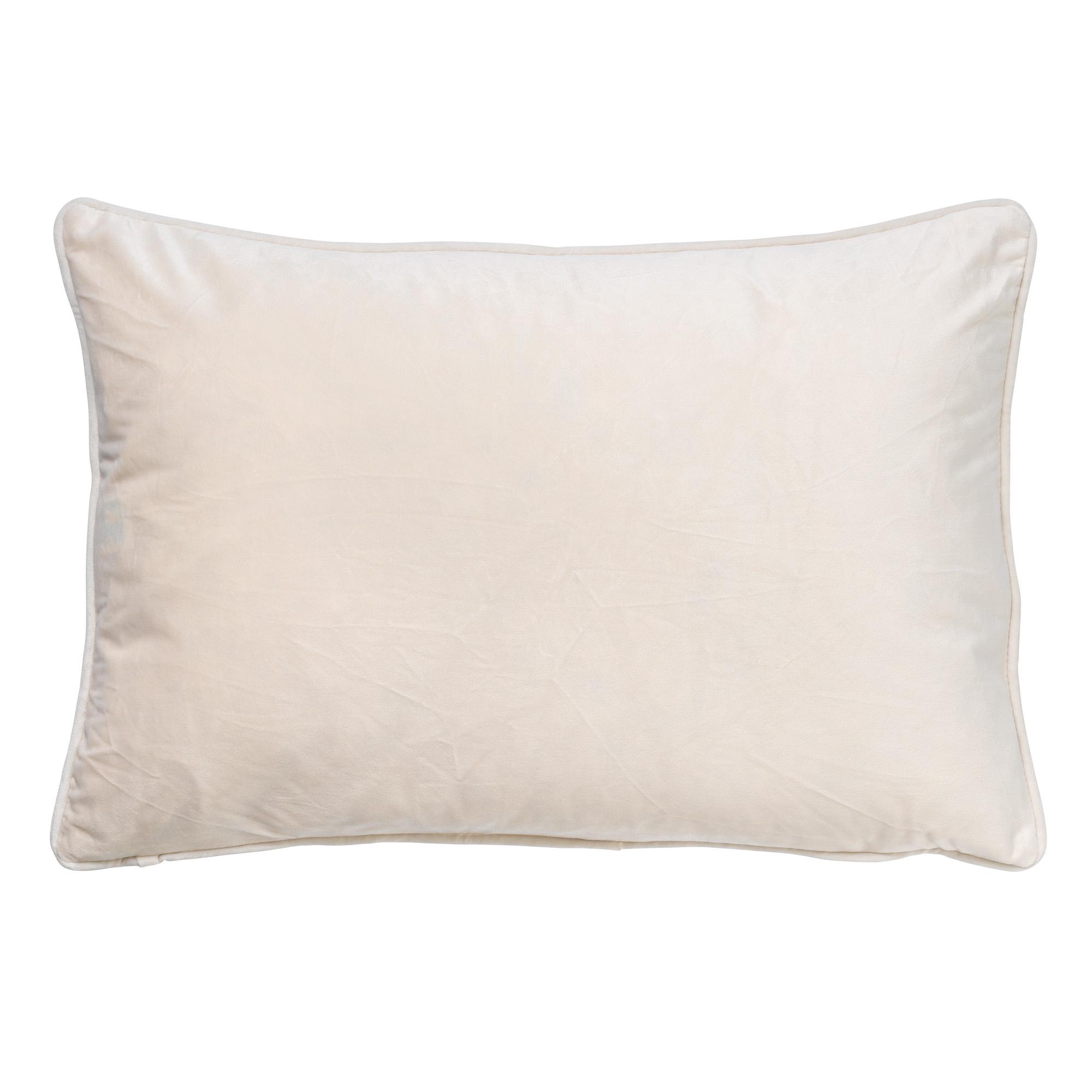 FINN - Sierkussen velvet Snow White 40x60 cm